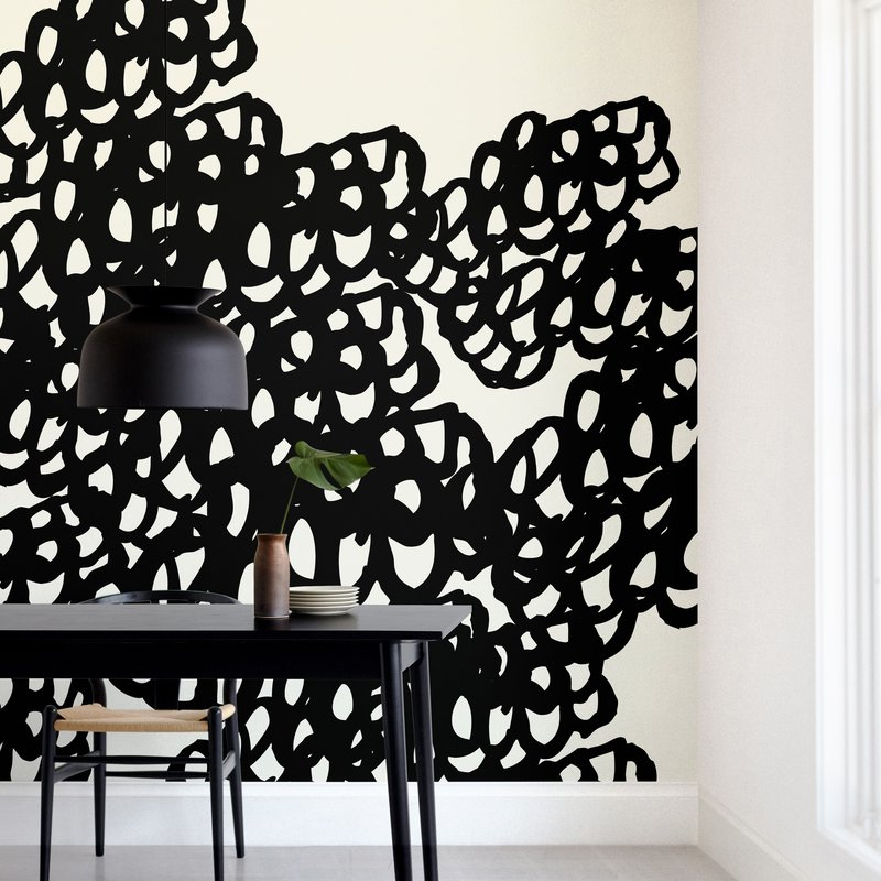 """Black Sheep"" - Non-custom Wall Murals by hey paper moon in beautiful frame options and a variety of sizes."