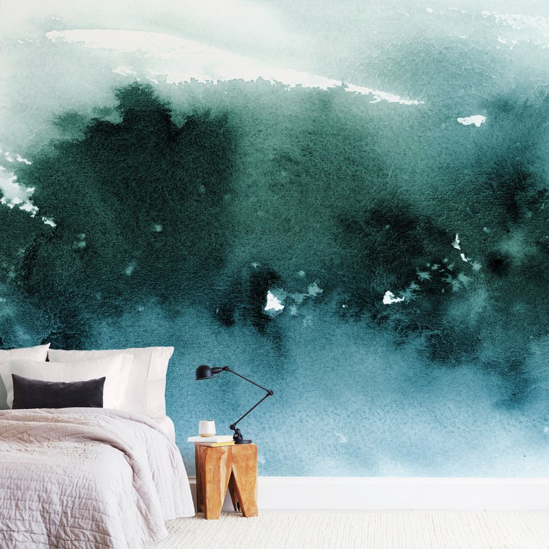 """""""misty forest"""" - Non-custom Wall Murals by Lindsay Megahed in beautiful frame options and a variety of sizes."""