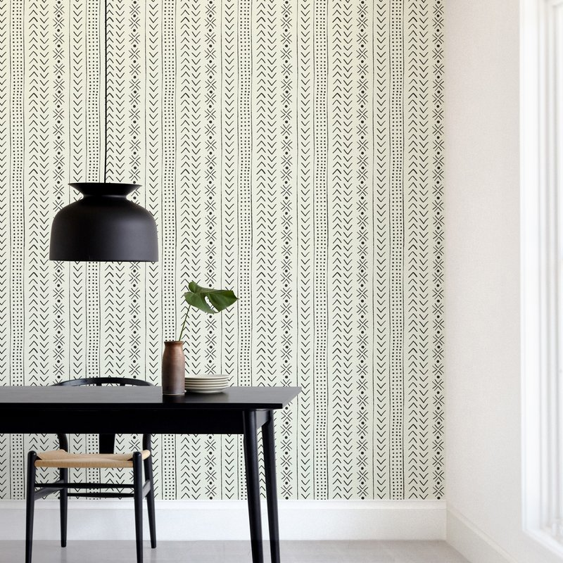 """""""mud cloth organic"""" - Non-custom Wall Murals by Erin Deegan in beautiful frame options and a variety of sizes."""