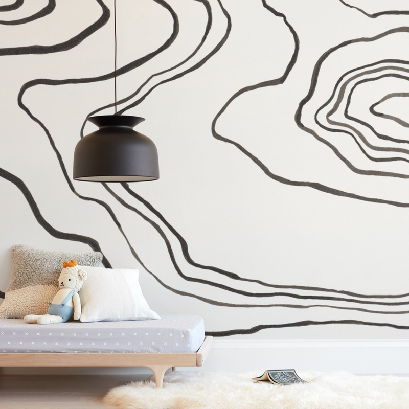 """""""Walkabout"""" - Non-custom Wall Murals by Kelly Johnston in beautiful frame options and a variety of sizes."""