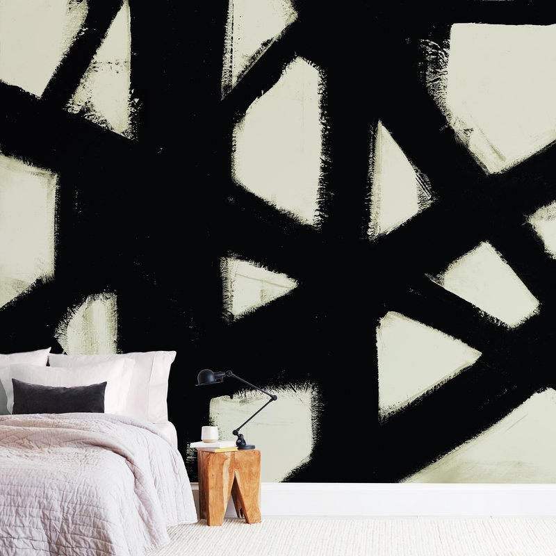 """""""Missed Connections"""" - Non-custom Wall Murals by Ilana Greenberg in beautiful frame options and a variety of sizes."""