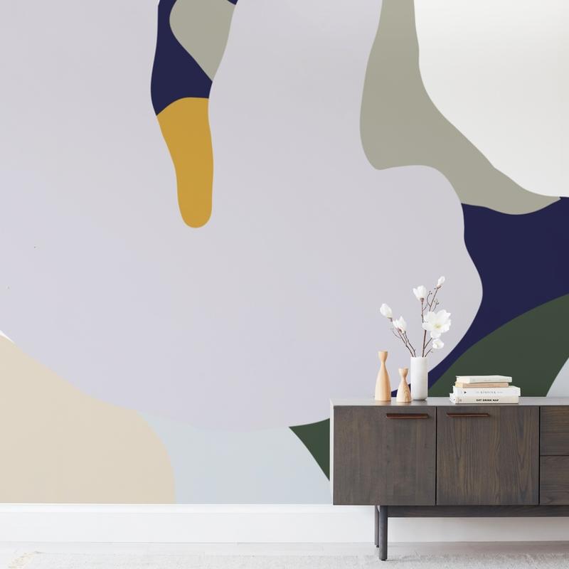 When Frankie Met Flora Wall Murals