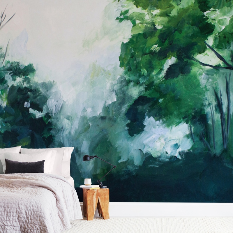 """""""Homeland"""" - Non-custom Wall Murals by Brittany Fan in beautiful frame options and a variety of sizes."""