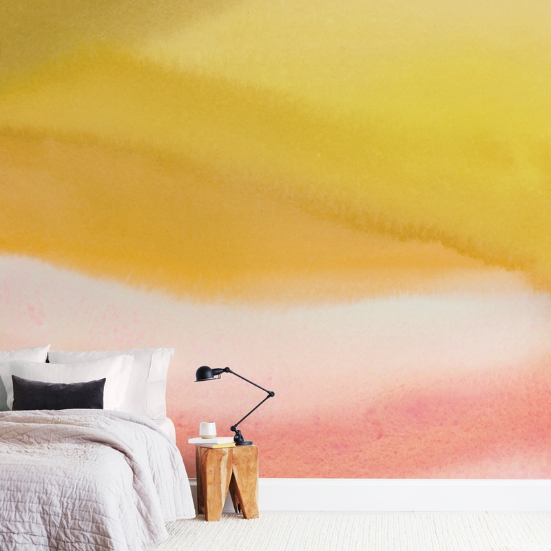 """""""Endless summer"""" - Non-custom Wall Murals by A Real Peach Studio in beautiful frame options and a variety of sizes."""