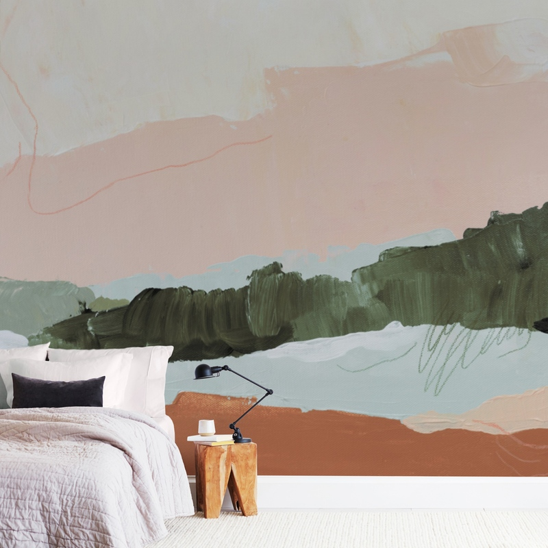 """Moving Mountains I"" - Non-custom Wall Murals by Kayla King in beautiful frame options and a variety of sizes."