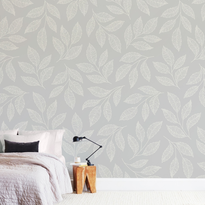 """""""Flowing Leaves"""" - Non-custom Wall Murals by Brandy Folse in beautiful frame options and a variety of sizes."""