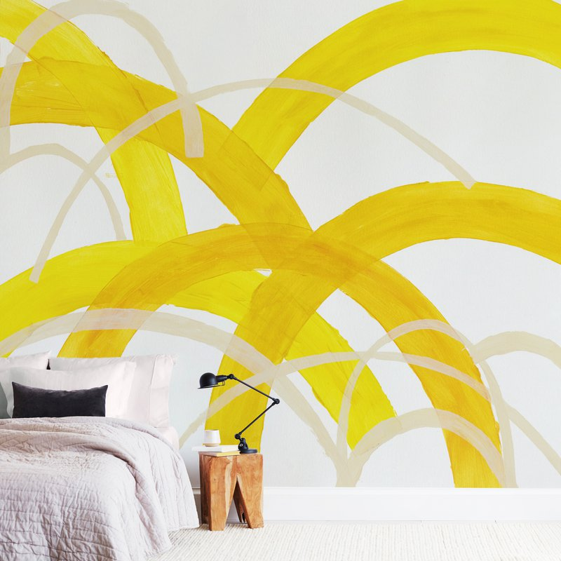 """Mountain Sunshine"" - Non-custom Wall Murals by Christina Flowers in beautiful frame options and a variety of sizes."