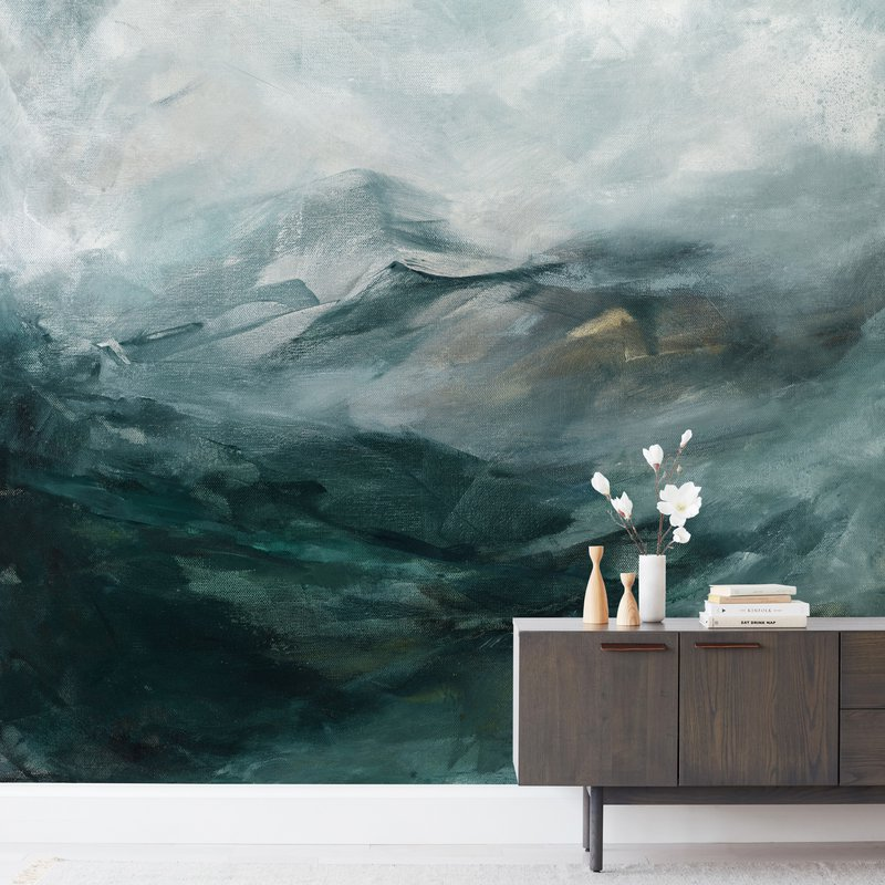 """""""Ice Canyon"""" - Non-custom Wall Murals by Mya Bessette in beautiful frame options and a variety of sizes."""