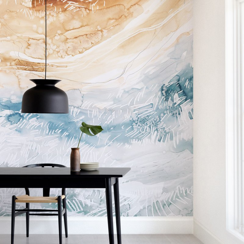 """""""Sediment No 1"""" - Non-custom Wall Murals by Kelly Ventura in beautiful frame options and a variety of sizes."""
