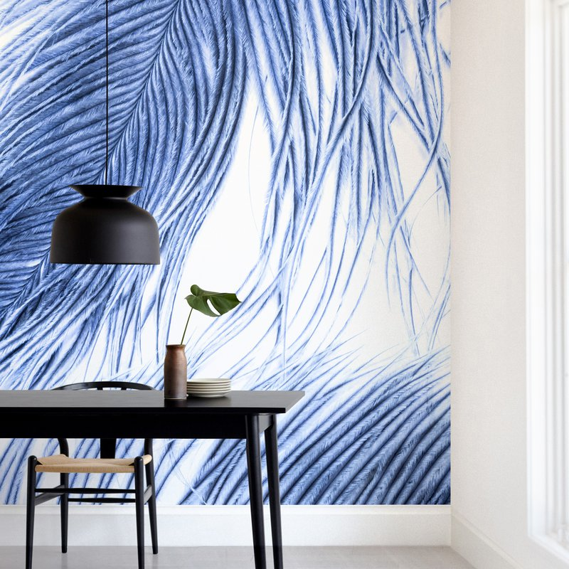 Fine Feathered l Wall Murals