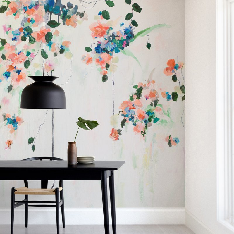 """""""Cascade"""" - Non-custom Wall Murals by Sonal Nathwani in beautiful frame options and a variety of sizes."""