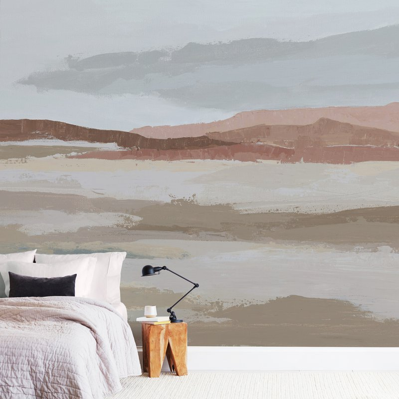 """Blushing Expanse"" - Non-custom Wall Murals by Kati Ramer in beautiful frame options and a variety of sizes."