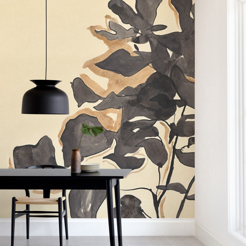 """""""Young Fig"""" - Non-custom Wall Murals by Laura Condouris in beautiful frame options and a variety of sizes."""