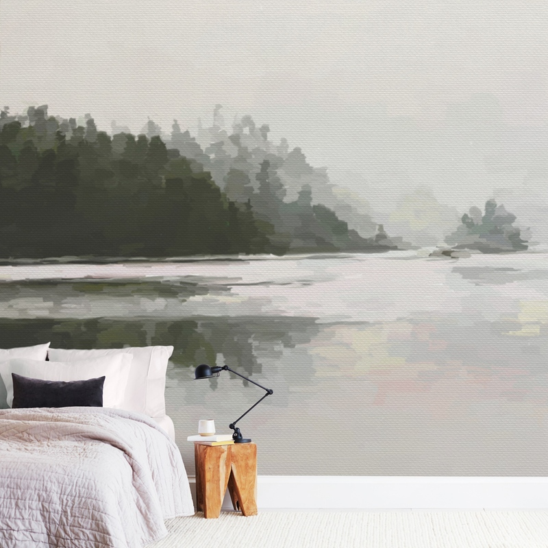 LakeView II Wall Murals
