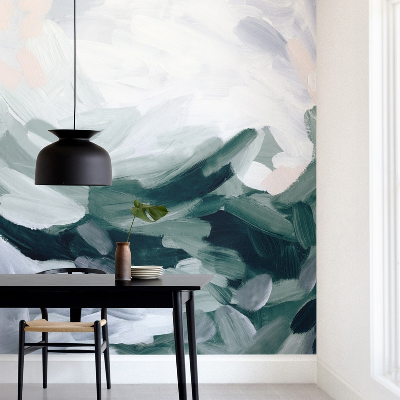 """""""So Serene"""" - Non-custom Wall Murals by Melanie Severin in beautiful frame options and a variety of sizes."""