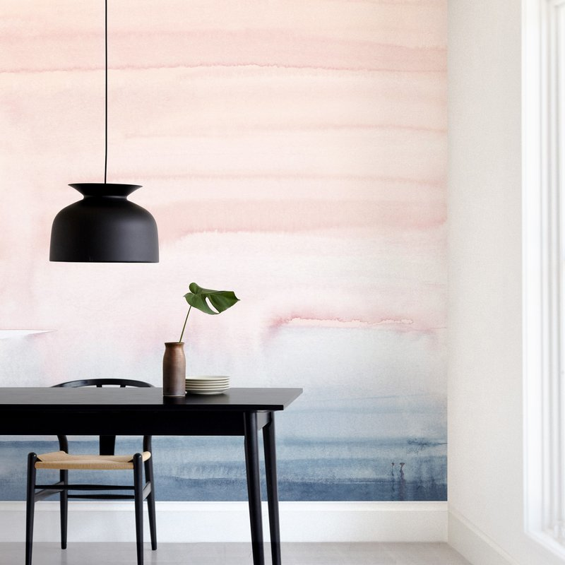 """""""Cascading Sky"""" - Non-custom Wall Murals by Little Valley Studio in beautiful frame options and a variety of sizes."""