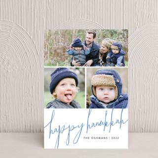 Trio Script Hanukkah Petite Cards