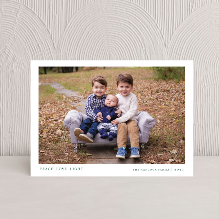 """""""Tiny Blessings"""" - Hanukkah Petite Cards in Spruce by That Girl Press."""