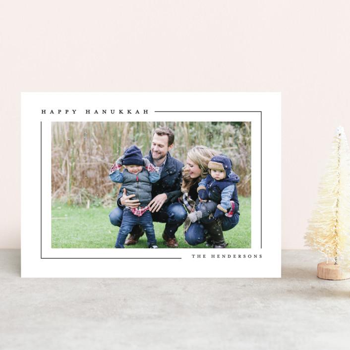 """""""Simply Serene"""" - Hanukkah Petite Cards in Blackberry Pie by Lauren Chism."""