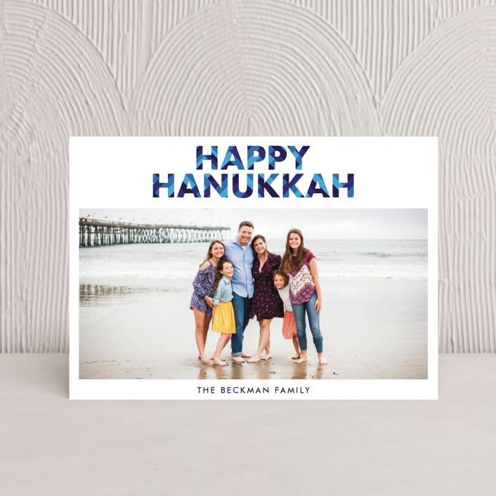 """""""Hanukkah"""" - Hanukkah Petite Cards in Sapphire by Bekah Beckman."""