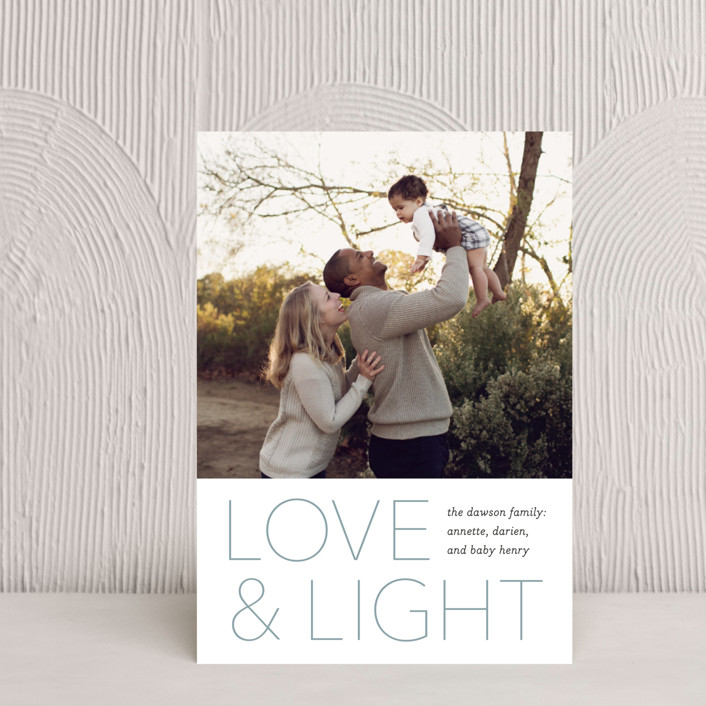 """Love and Light"" - Hanukkah Petite Cards in Lake by Laura Condouris."