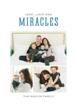 Light and Miracles Hanukkah Cards By Kimberly Morgan