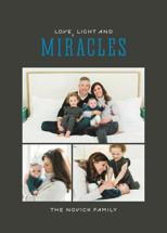 Light and Miracles Hanukkah Cards By Kimberly Morgan