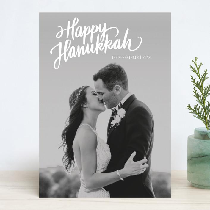 """Inscripted"" - Hanukkah Cards in Light by Rebecca Daublin."