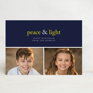 Peace & Light Hanukkah Cards