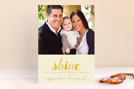 Shine Hanukkah Cards