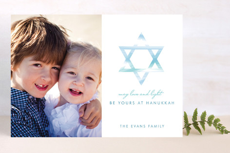 Love and Light Hanukkah Cards