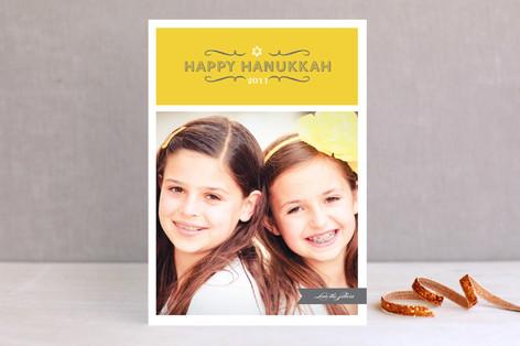 Hanukkah Swirls Hanukkah Cards