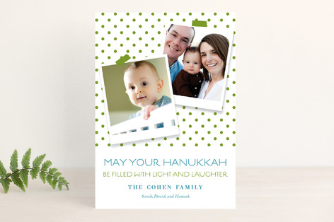Festive Greetings Hanukkah Cards