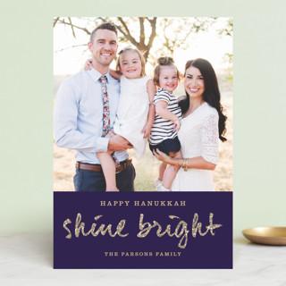 Shine Bright Hanukkah Cards