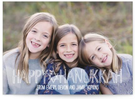 Happy Hanukkah Handwritten Hanukkah Cards