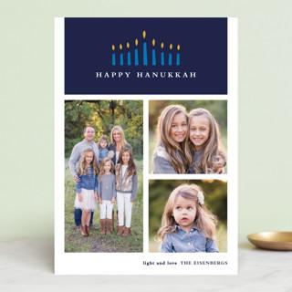 Candlelight Hanukkah Cards