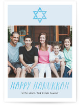 Hanukkah Watercolor by Amanda Larsen Design