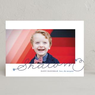 Shalom Hanukkah Cards