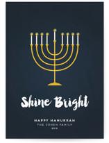 Shine Bright Menorah by Sara Showalter