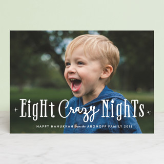 Eight Crazy Nights Hanukkah Cards
