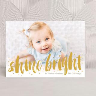 Bright And Shiny New Year Hanukkah Cards