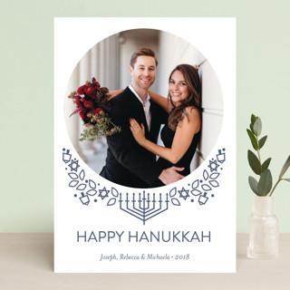 Traditional Hanukkah Whimsy Hanukkah Cards