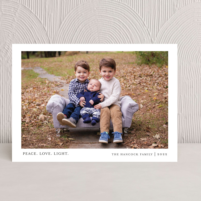 """Tiny Blessings"" - Hanukkah Cards in Spruce by That Girl Press."