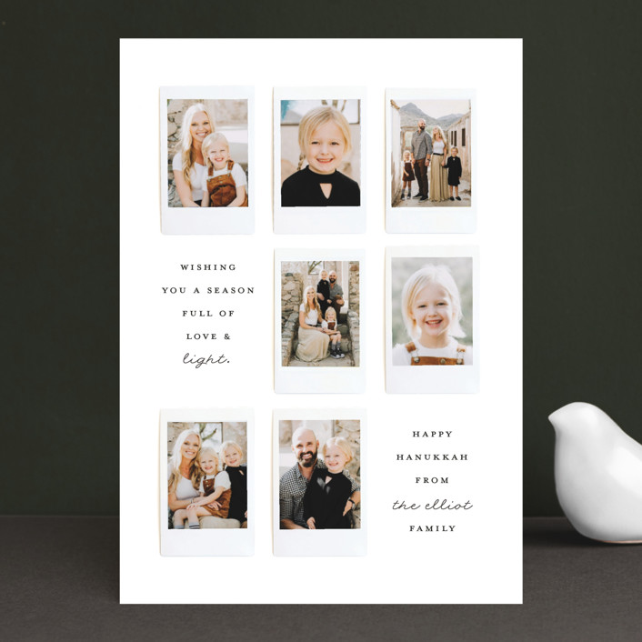 """""""Instant Gallery"""" - Hanukkah Cards in North Star by Olivia Kanaley."""