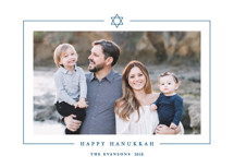 Minimal Star Hanukkah Cards By Katy Shen