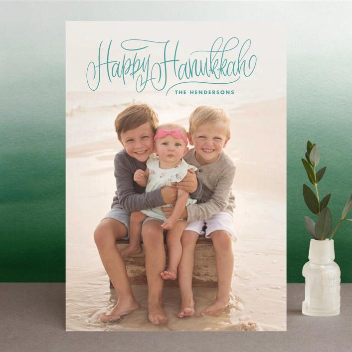 """""""Stavanger"""" - Hanukkah Cards in Iceberg by Aspacia Kusulas."""