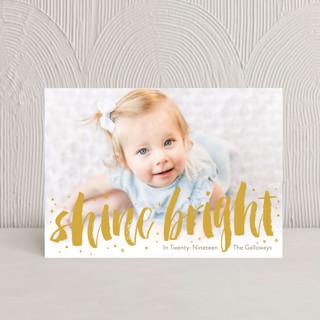 Bright And Shiny New Year Hanukkah Postcards