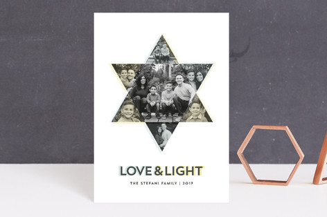 Starring You Hanukkah Postcards