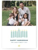Hanukkah Lights by Waui Design