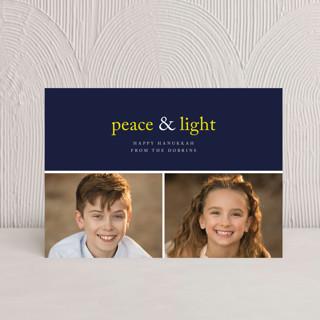 Peace & Light Hanukkah Postcards